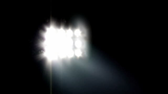 floodlight with sound (hd 720) - floodlight stock videos & royalty-free footage