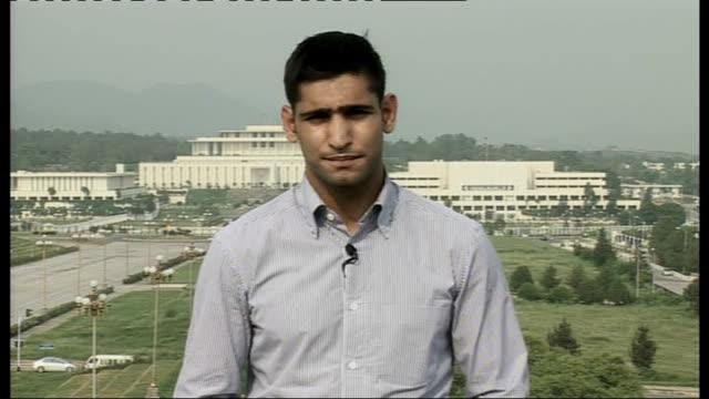 boxing champion amir khan visits flood victims in pakistan england london gir int amir khan 2way interview from islamabad sot - ギールフォーレスト国立公園点の映像素材/bロール