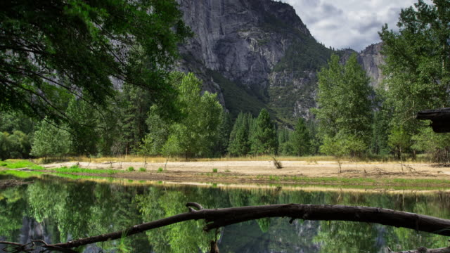 floor of yosemite valley - time lapse - river merced stock videos & royalty-free footage