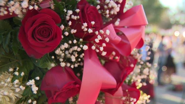 Floral arrangements for the victims in the Parkland Massacre