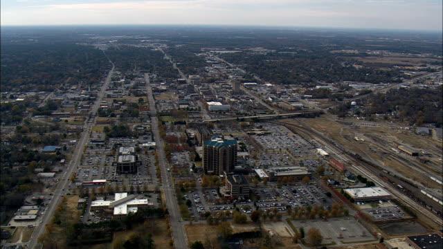 florenz - luftbild - south carolina, florence county, vereinigte staaten von amerika - south carolina stock-videos und b-roll-filmmaterial