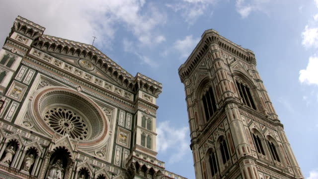 florence cathedral - bell tower tower stock videos and b-roll footage