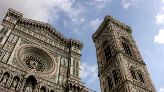 florence cathedral - klocktorn bildbanksvideor och videomaterial från bakom kulisserna