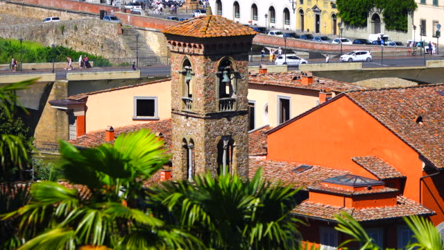 florence city view - italian currency stock videos & royalty-free footage