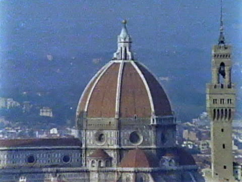 florence cityscape - 16th century style stock videos and b-roll footage