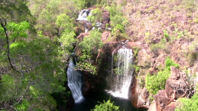 hd: florence falls - northern territory australia stock videos & royalty-free footage
