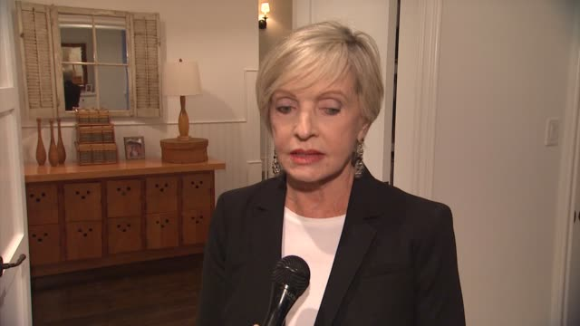 interview florence henderson on what brought her to the event her connection to hearing loss or tinnitus what she's working on next hearing health... - sherman oaks stock videos & royalty-free footage