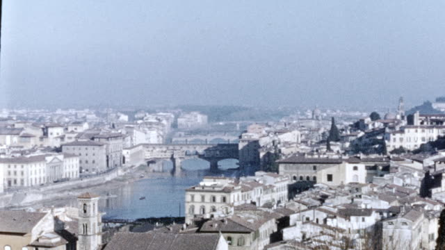 stockvideo's en b-roll-footage met florence italy in 1946 - 1946