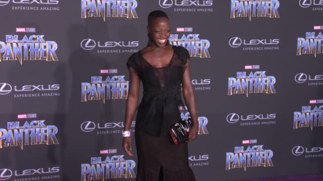 Florence Kasumba at the Marvel Studios' 'Black Panther' World Premiere at Dolby Theatre on January 29 2018 in Hollywood California