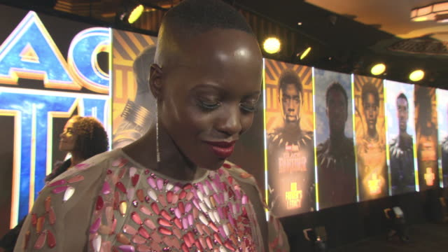 INTERVIEW Florence Kasumba on being part of the process the audience reactions being a part of the Marvel and DC franchises on the outfits in the...