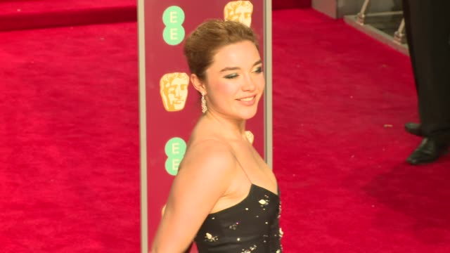 Florence Pugh at Royal Albert Hall on February 18 2018 in London England