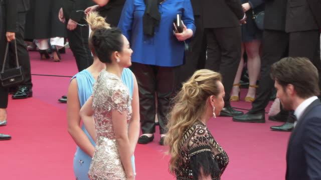 Florence Pugh Zhang Ziyi Francois Civil Caroline Scheufele at 'La Belle Epoque' Red Carpet Arrivals The 72nd Cannes Film Festival at Palais des...
