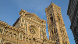 Florence, Tuscany, Italy. View of the Santa Maria del Fiore cathedral