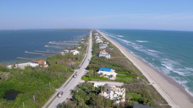 Florida Barrier Island Flyover
