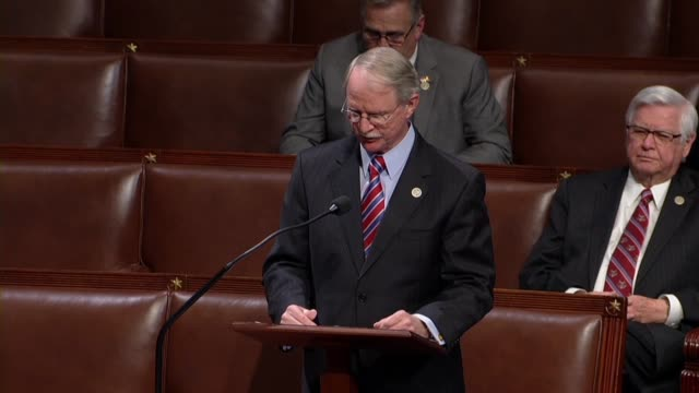 Florida Congressman John Rutherford speaks in support of his STOP School Violence Act that as a career law enforcement officer he knew firsthand the...