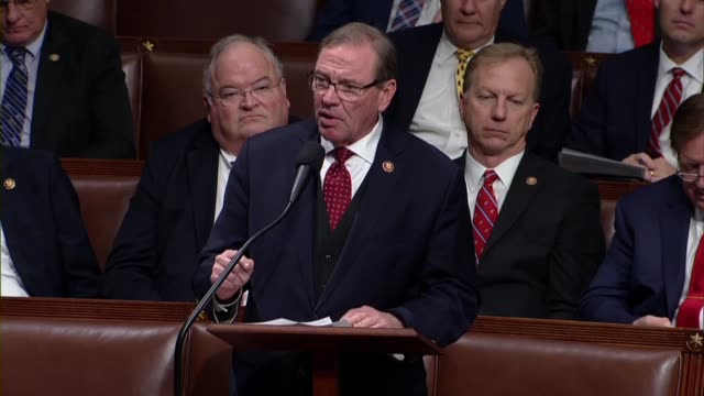 florida congressman neal dunn opposes impeaching president donald trump because his constituents want to see congress work to fix surprise medical... - politische gruppe stock-videos und b-roll-filmmaterial