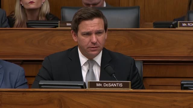 Florida Congressman Ron DeSantis asks Secretary of State Mike Pompeo at a House Foreign Affairs Committee hearing about presence of Cuba in Venezuela...