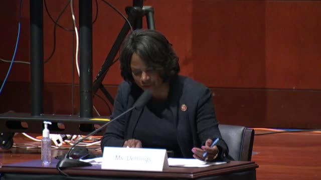 florida congresswoman val demings suggests at a house judiciary committee hearing that as a former police detective she had seen an alarming pattern... - former stock videos & royalty-free footage