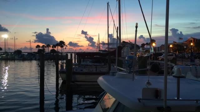 florida evening time lapse - ロマンチックな空点の映像素材/bロール