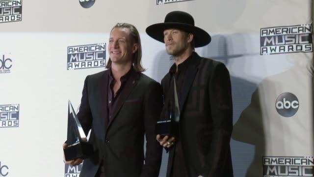 Florida Georgia Line at 2015 American Music Awards in Los Angeles CA