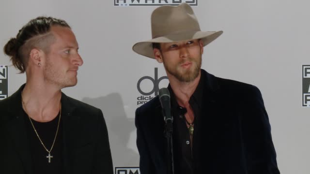 interview florida georgia line on the event at 2016 american music awards in los angeles ca - american music awards stock videos and b-roll footage