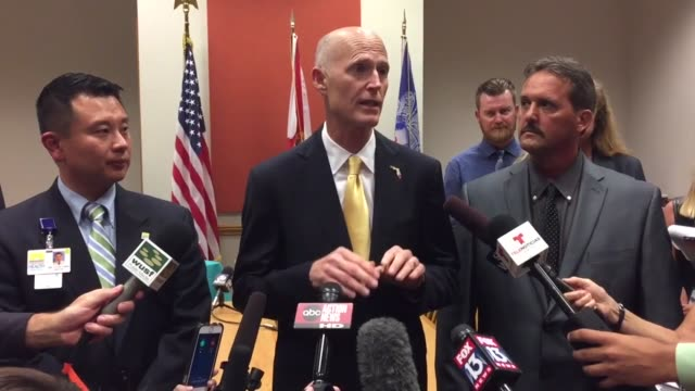 Florida Governor Rick Scott announces new Zika infections in the North Miami area There are now 14 cases of locally transmitted Zika in the state