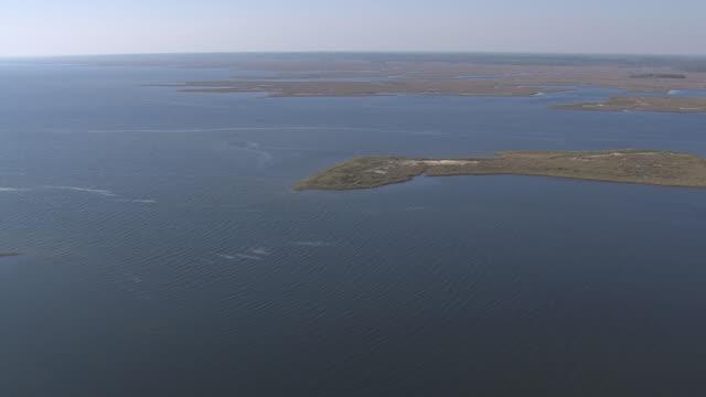 vídeos y material grabado en eventos de stock de aerial ws florida gulf coast / florida, united states - gulf coast states