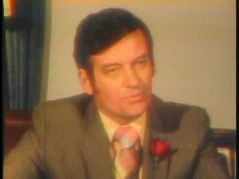 florida legislator richard pettigrew discusses the new look of florida politics. - legislator stock videos & royalty-free footage
