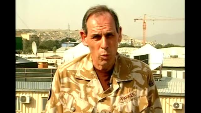 florida pastor calls off burning koran lieutenant general sir nick parker interview sot - pastor stock videos and b-roll footage