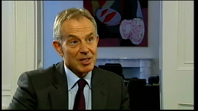 florida pastor won't burn copies of the koran on 9/11 england london int tony blair interview sot things like this spread worldwide very quickly and... - pastor stock videos & royalty-free footage