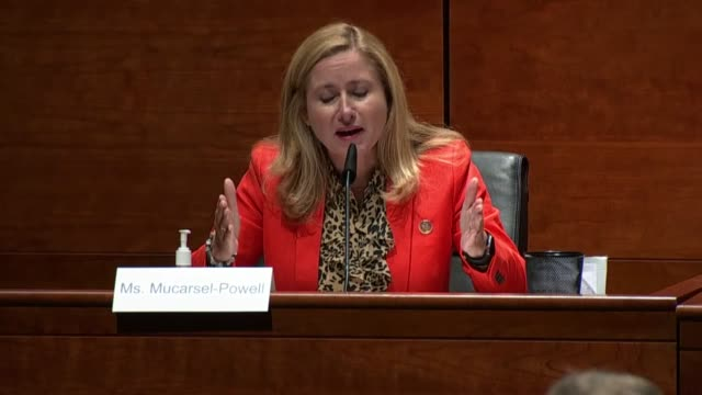 florida representative debbie mucarsel powell tells attorney general bill barr at a house judiciary committee oversight hearing that he and the trump... - attorney general stock videos & royalty-free footage