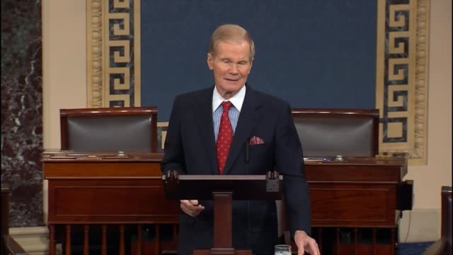 florida senator bill nelson describes an impasse between apple and the federal bureau of investigation saying that if a security feature were to be... - feature phone stock videos and b-roll footage