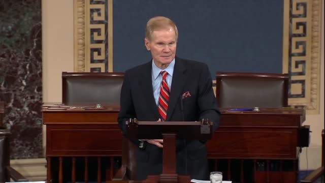 Florida Senator Bill Nelson says after a mass shooting at the Marjory Stoneman High School in Parkland that at some point it enough must be enough...