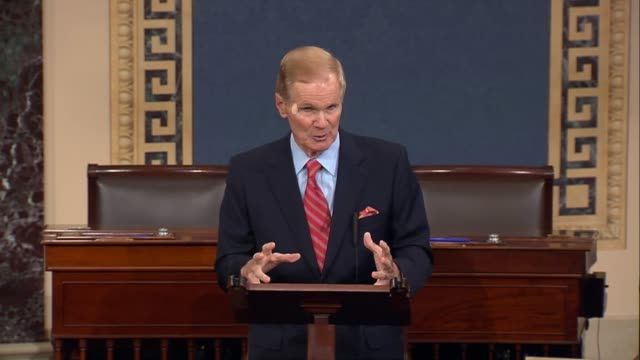 florida senator bill nelson says people obeyed evacuation orders in his state as hurricane irma approached, that there is a mess to clean up after... - hollywood florida stock videos & royalty-free footage
