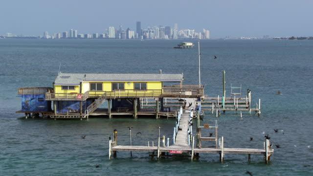 usa, florida : stilt house - stilt house stock videos & royalty-free footage
