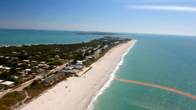 florida west coast aerials - grande stock videos and b-roll footage