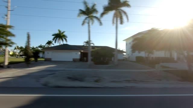 フロリダ21同期シリーズ左サイド駆動プロセスプレート - ムービングプロセスプレート点の映像素材/bロール