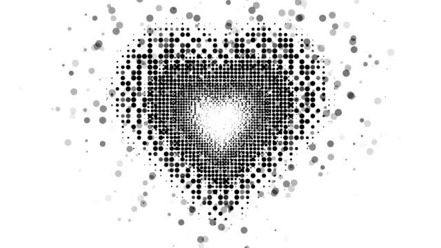 HEART SHAPE : flow (LOOP)