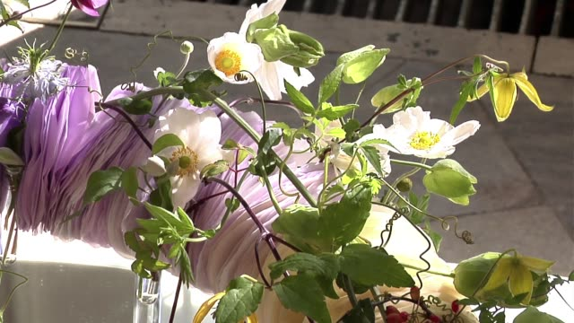 flower bouquet - bunch of flowers stock videos & royalty-free footage