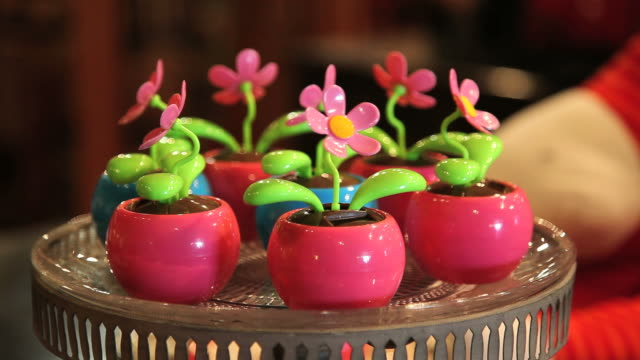 flower, decoration, toy, plastic - medium group of objects stock videos & royalty-free footage