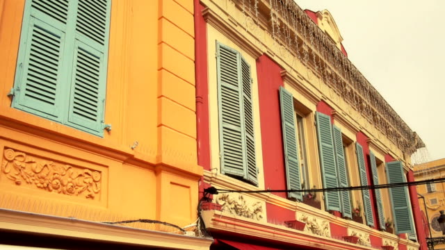 flower market area of nice france - france stock videos & royalty-free footage