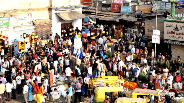 Flower Market, Bangalore, India, Asia