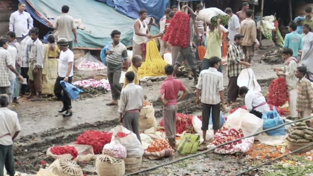 MS Flower market in Kolkata / Kolkata, West Bengal, India
