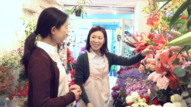 flower shop - selling stock videos & royalty-free footage