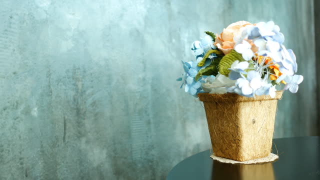 flower vase - vase stock videos & royalty-free footage