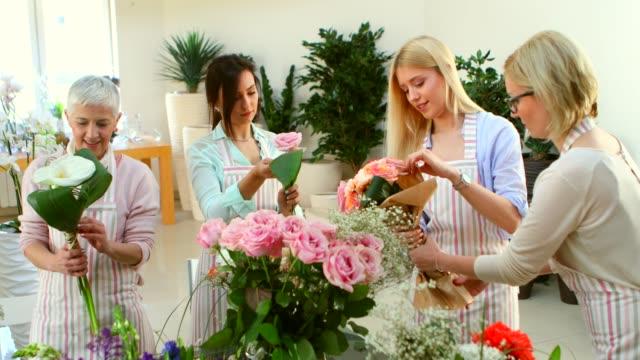 flower workshop - choosing stock videos and b-roll footage