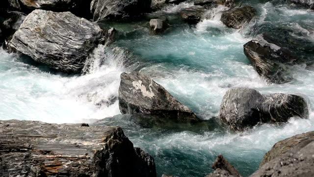 ニュージーランドで流れる川