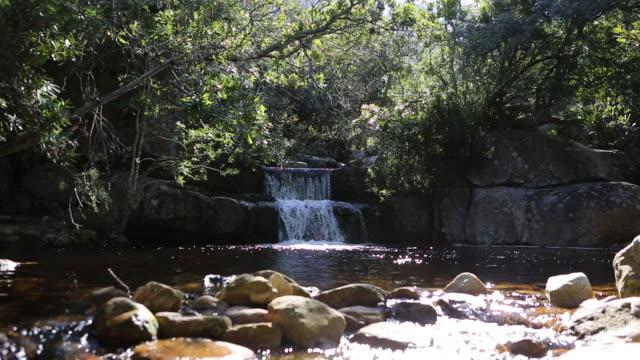 vidéos et rushes de coulant de rivière dans les montagnes - eau minérale