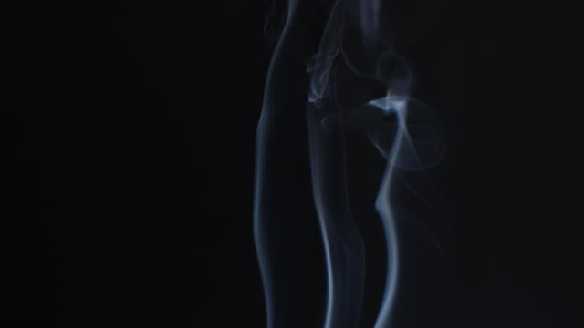 flowing smoke - grayscale stock videos and b-roll footage