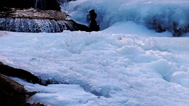 stockvideo's en b-roll-footage met vloeiende bronwater. sierra nevada bergen - californian sierra nevada